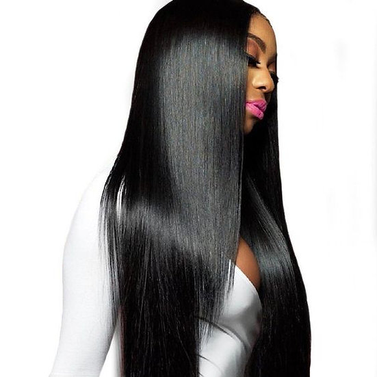Luxury super silky straight bundles 10A
