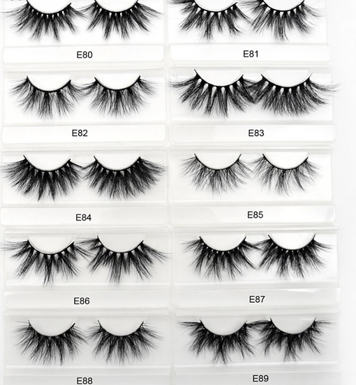 Luxury Mink Wispy Eye Lash Extensions