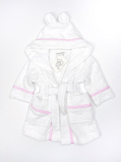 PINK HOODED ROBE