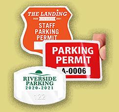 Parking permits!