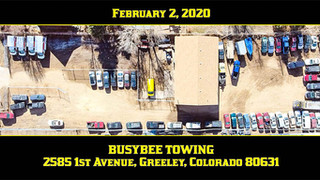 BusyBee Towing's Second Tow Yard