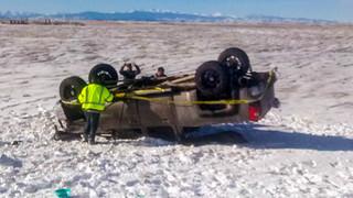 Rollover Crash Jan 2020