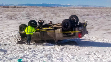 Rollover Crash Jan 2020