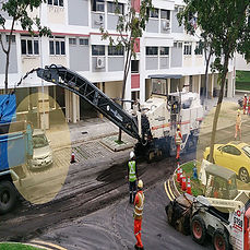 Paving Project Towing
