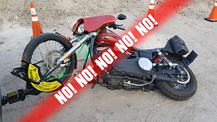 Motorcycle Towing Mistake!