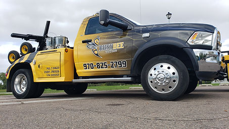 BusyBee Towing Tow Truck