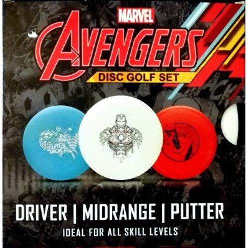 Pack de 3 disc pour débutant Avenger
