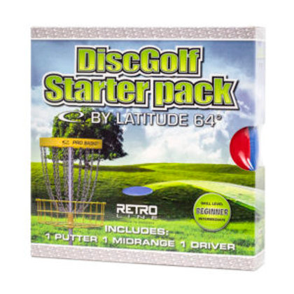 Pack de 3 disc pour débutant