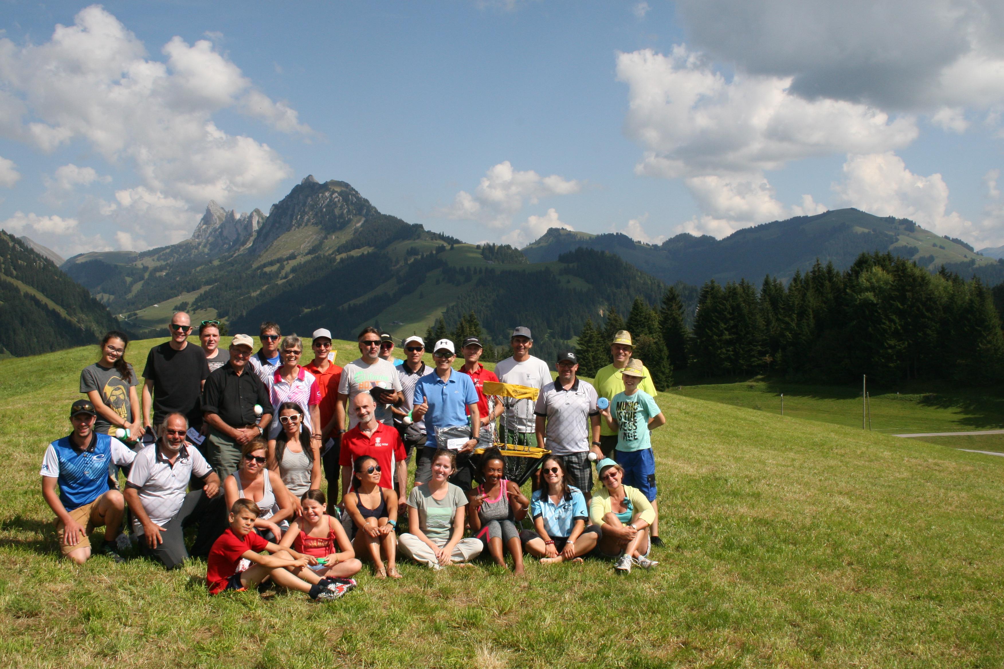 Les participants au tournoi