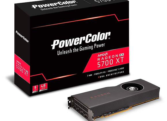 PowerColor Navi AMD Radeon RX 5700 XT 8GB GDDR6 AXRX 5700Xt 8GBD6-M3DH