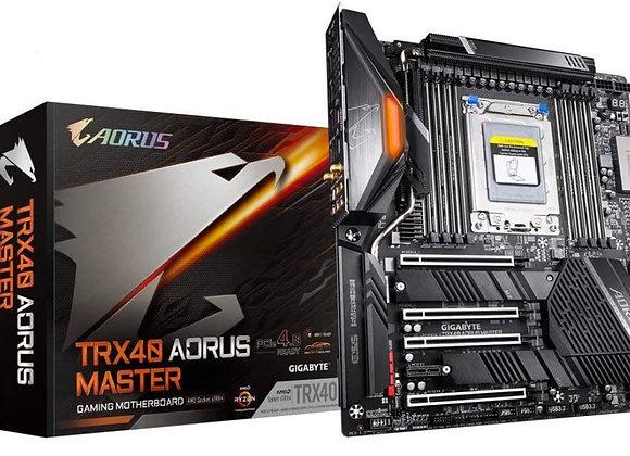 Gigabyte TRX40 Aorus Master sTRX4 AMD TRX40  Extended ATX AMD Motherboard