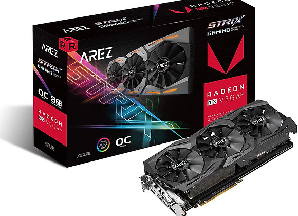 ASUS Arez Strix Radeon Rx Vega56 8GB OC Edition VR Ready 5K HD Gaming