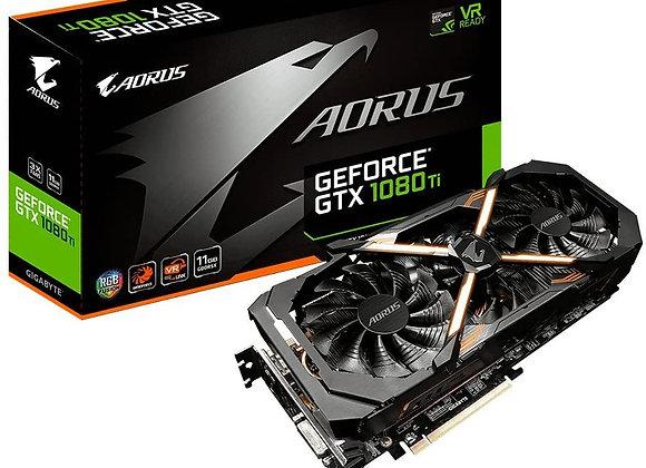 Gigabyte Aorus GeForce GTX 1080 Ti 11GB Graphic Cards