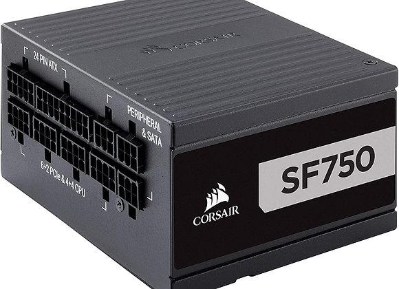 CORSAIR SF Series, SF750, 750 Watt, SFX, 80+ Platinum Certified