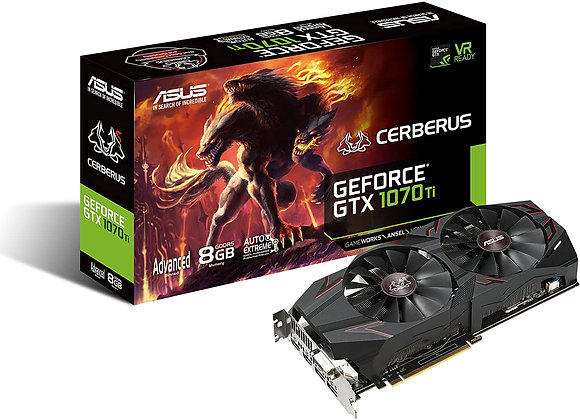 ASUS Advanced Edition - Graphics Card - GF GTX 1070 Ti - 8 GB GDDR5 - PCIe 3.0