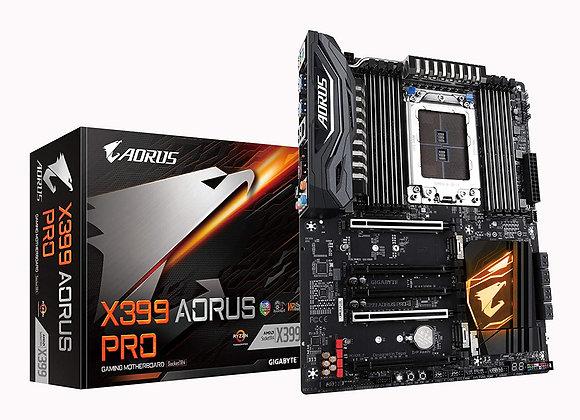 GIGABYTE X399 AORUS PRO (AMD Ryzen Thread Ripper TR4/ATX /3X M.2/Front USB 3.1