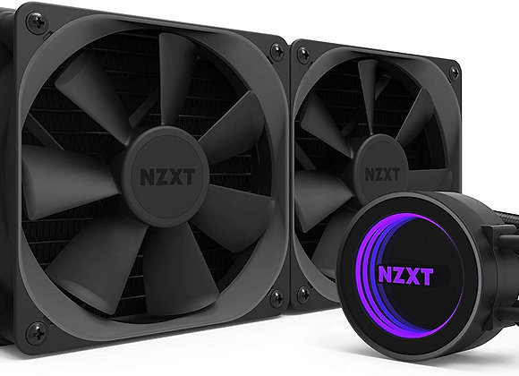 NZXT Kraken X52 240mm - All-In-One RGB CPU Liquid Cooler