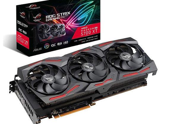 ASUS ROG Strix Radeon RX 5700 XT Overclocked Triple-Fan 8GB GDDR6 PCIe Video