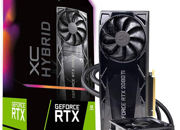 EVGA GeForce RTX 2080 Ti XC Hybrid 11GB GDDR6 PCIe 3.0 Graphics Card