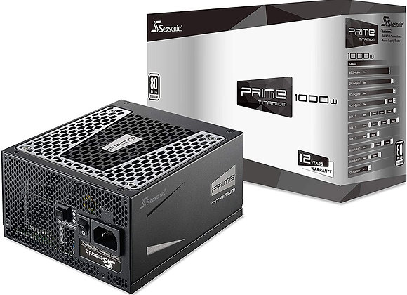 Seasonic Prime 1000 Titanium SSR-1000TR 1000W 80+ Titanium ATX12V & EPS12V