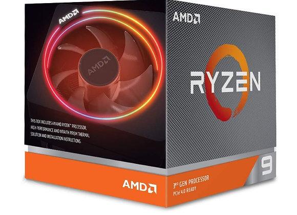 AMD Ryzen 9 3900X 12-core, 24-Thread Unlocked Desktop Processor