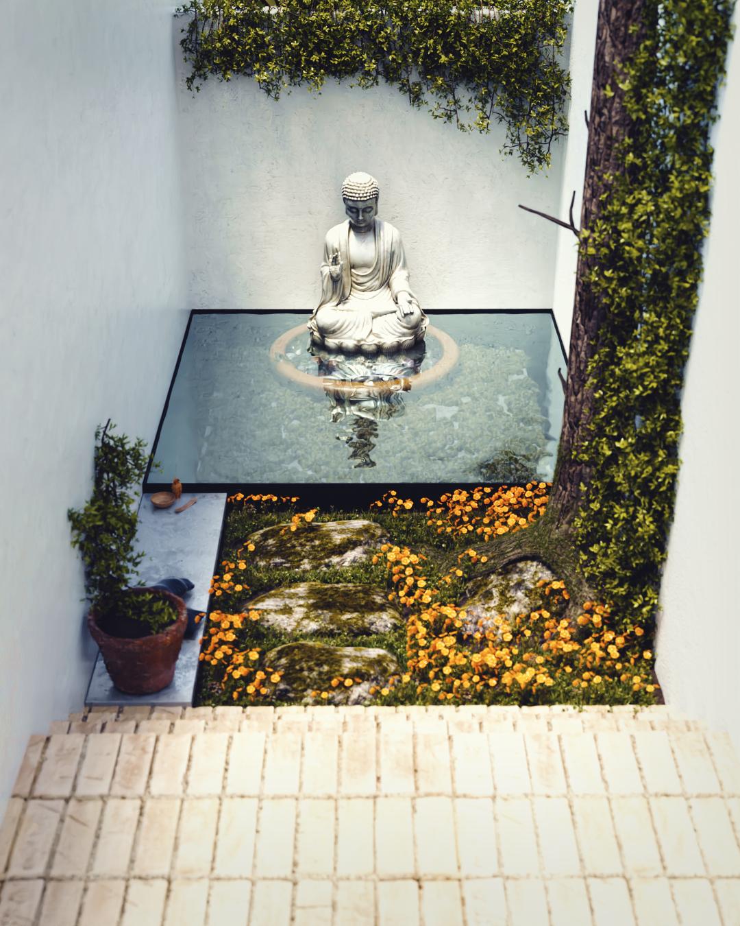 Jardín secreto.