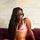 Thumbnail: Lalic High Cut Ribbed Reveuse Bikini