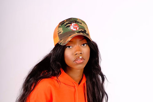 Armée Orange Trucker Hat