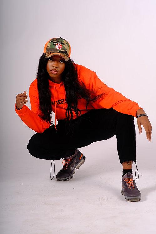 Reveuse World Orange Hoodie