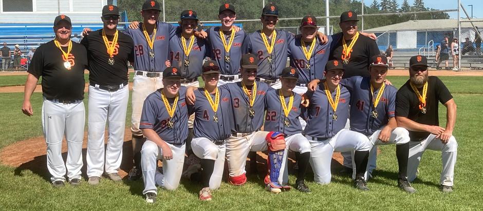 2020 SPBL 18U AAA North Division Champions