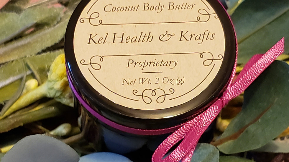 Coconut Body Butter 2 oz
