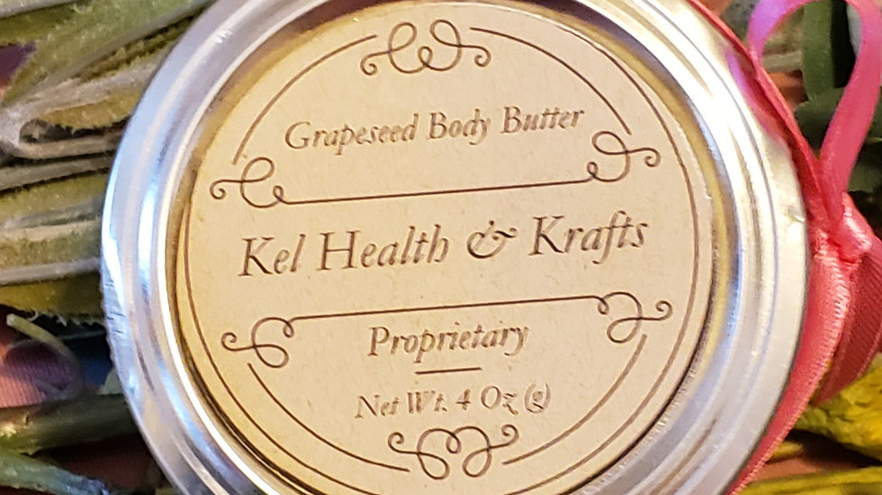 Grapeseed Body Butter 4 oz