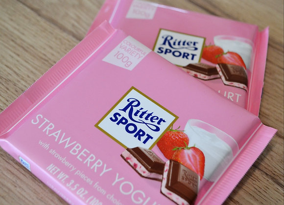 Ritter Sport ~ Strawberry & Yoghurt