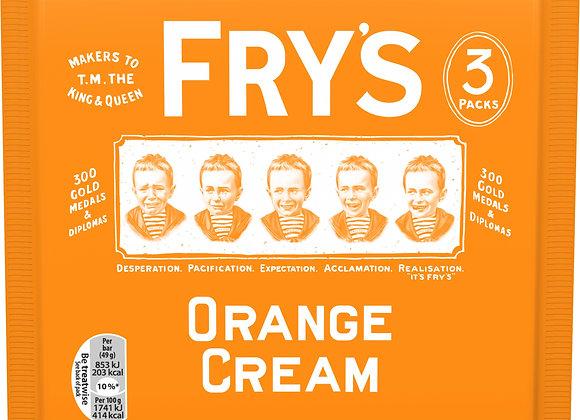 Fry's Orange Cream - 3 Pack Retro Sweets Chocolate