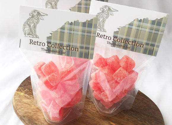 Retro sweets, cola cubes, sweet shop scotland, Denise Brolly
