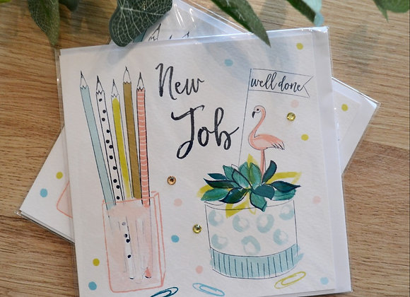 Katie Phythian Design Limited - New Job Card