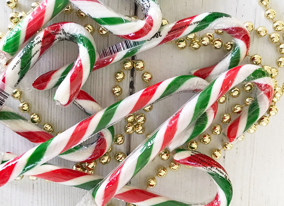 Christmas Traditional Peppermint Candy Canes