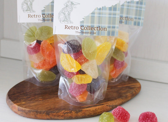 Retro sweets, sweet shop Scotland, Denise Brolly sweetie pouch