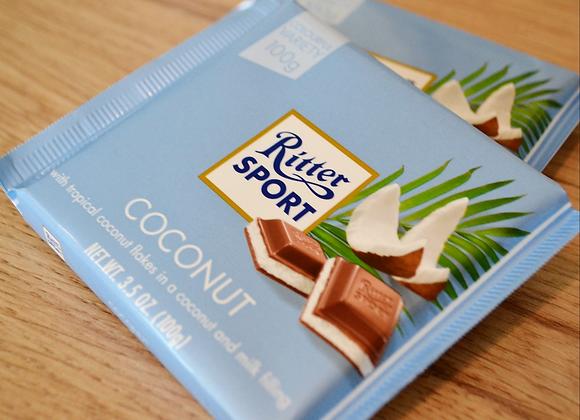 Ritter Sport - Coconut - Milk Chocolate