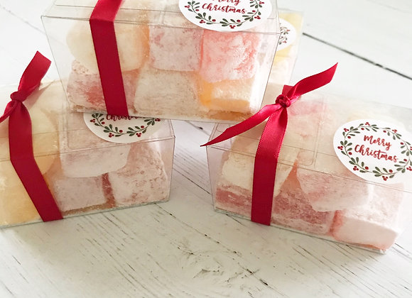Turkish Delight Retro sweets, cola cubes, sweet shop scotland, Denise Brolly