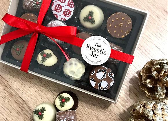 Medium Christmas Chocolate Box