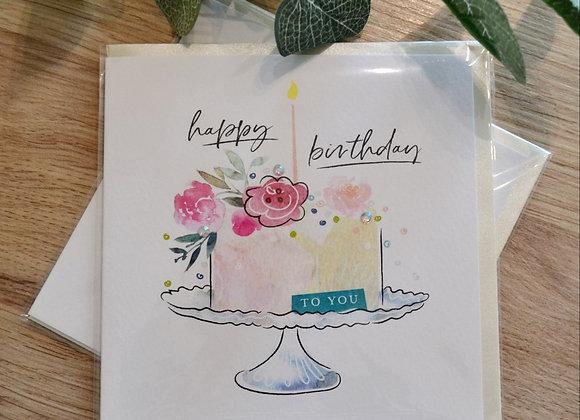 Katie Phythian Design Limited - Happy Birthday Card