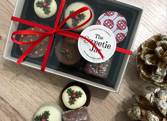 Christmas Chocolate Box - Belgian Chocolates