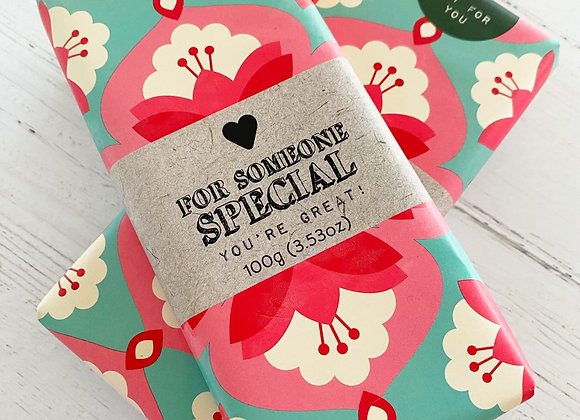 Someone Special Chocolate Bar - Small Business Mother's Day Gifts