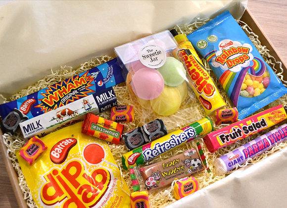 Retro Sweetie Letterbox Hamper