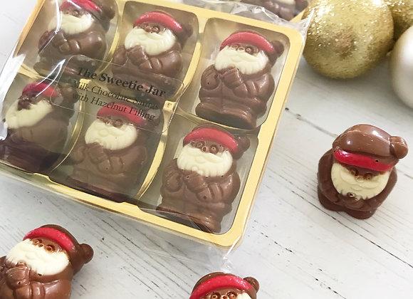 Santa Belgian Chocolates Artisan Scottish Sweet Shop Denise Brolly