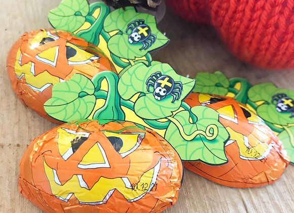 Chocolate Pumpkin Halloween sweets small business