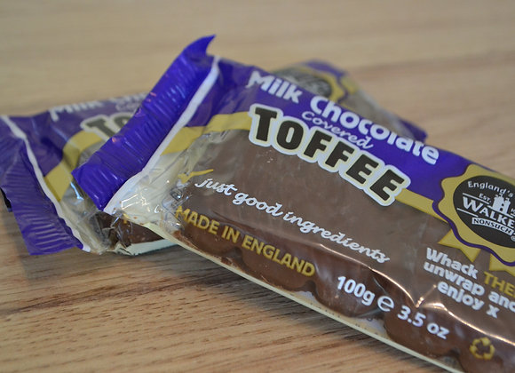 Walkers Milk Chocolate Covered Toffee
