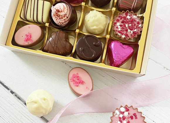 Medium Mother's Day Chocolate Box - Belgian Chocolate Luxury Chocolate Box - Small Business Mother's Day Gifts