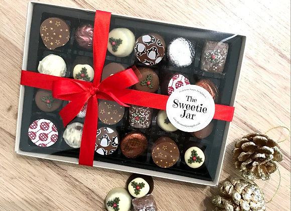Large Christmas Chocolate Box